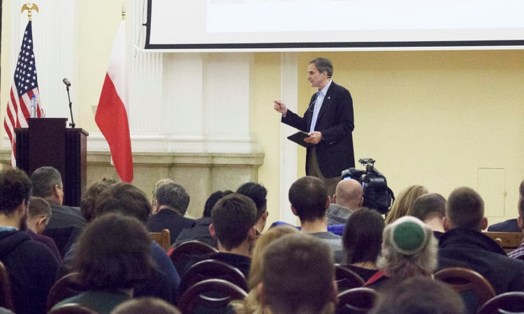 Amb. Paul W. Jones U.S.-Polish Relations Speech at Warsaw Polytechnic.