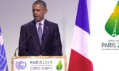 President Obama delivers remarks at COP21