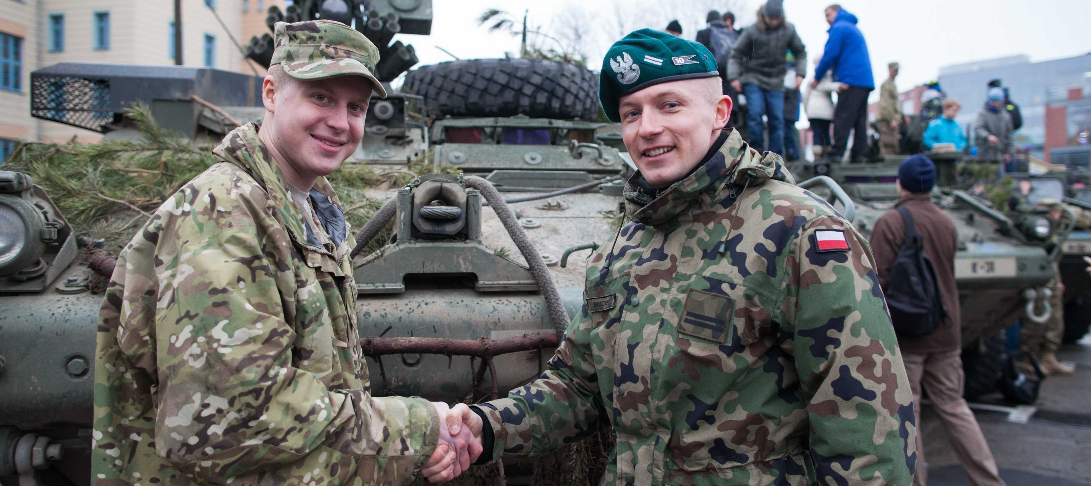 Operation Knightrider – American Troops Meet Residents of Opole