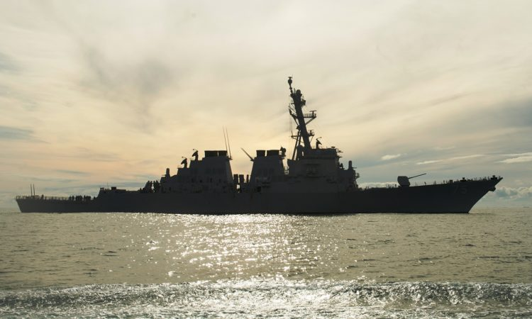 American Destroyer USS Donald Cook