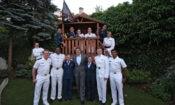 U.S. Consul General Walter Braunohler hosted a reception for American Military Cadets.