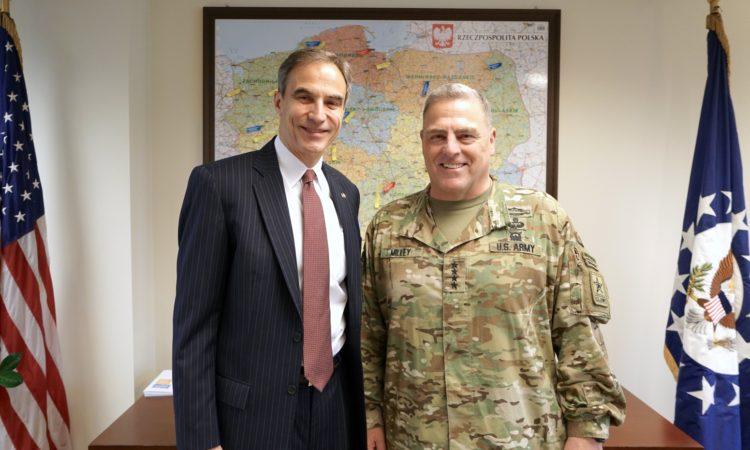 Generał Mark Milley z wizytą w Polsce