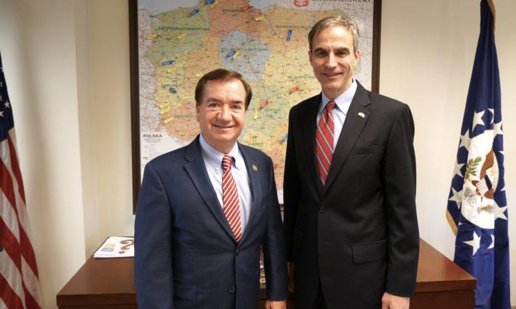 Wizyta Kongresmana Eda Royca w Polsce