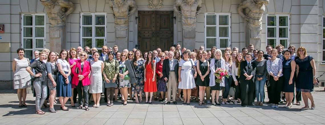 45 amerykańskich stypendystów Fulbrighta kończy pracę i badania w Polsce
