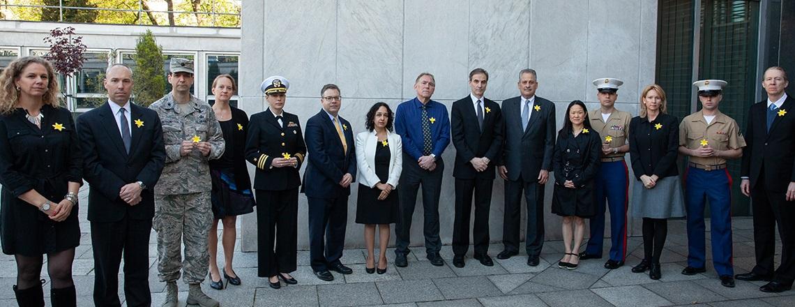 Embassy Commemorates 75th Anniversary of Warsaw Ghetto Uprising