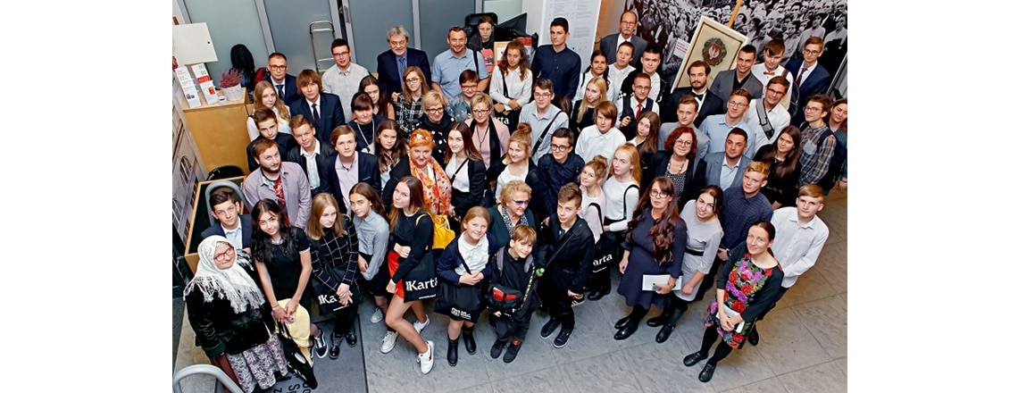 """Embassy Continues Its Support of Polish Youth at """"Peers of Independence"""" Competition"""