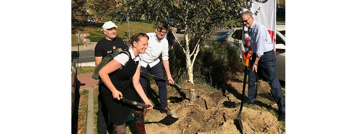 Festival of the Tree: U.S. Embassy and Klub Gaja Branch Out for Cleaner Air Across Poland