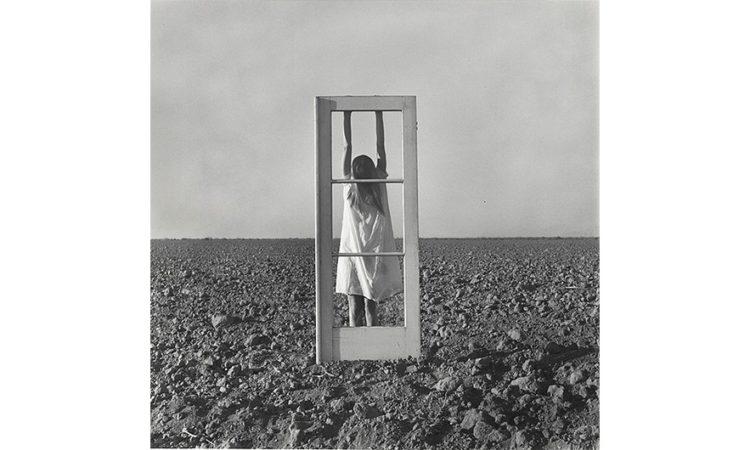 Autoportret. Drzwi i pole, 1964