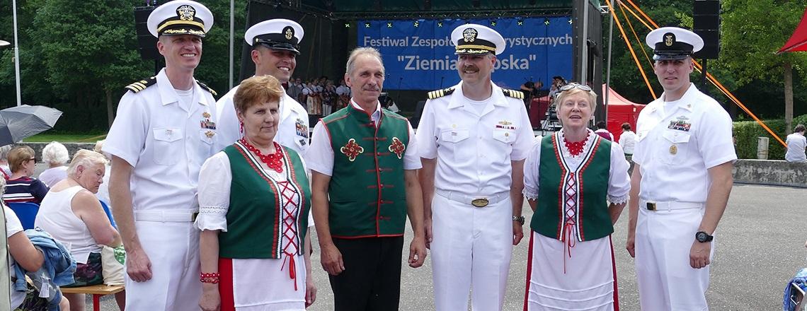 U.S. Embassy Supports Ziemia Słupska 2018 Folklore Festival in Słupsk