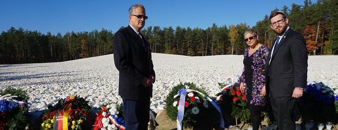 U.S. Government Officials Honor Victims of Sobibór Nazi Death Camp