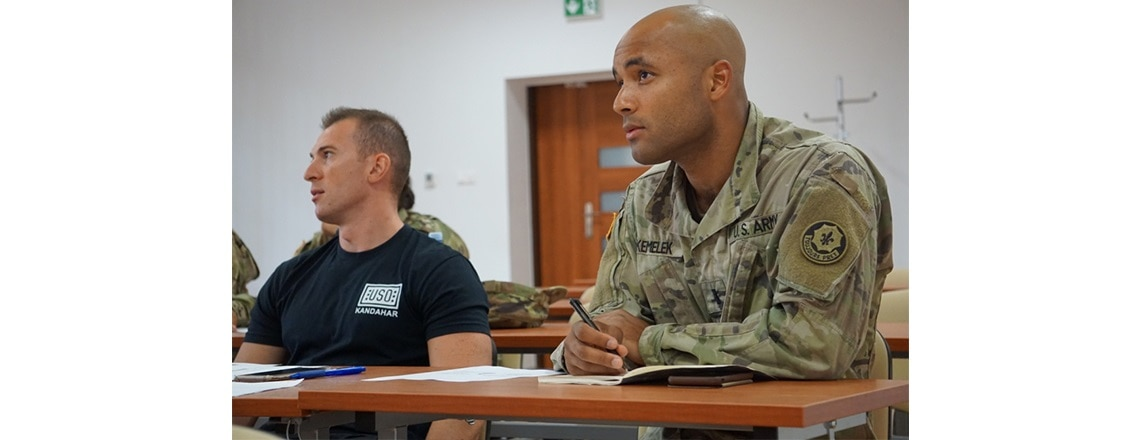 Polish Language Class Immerses Soldiers in Cultural Landscape