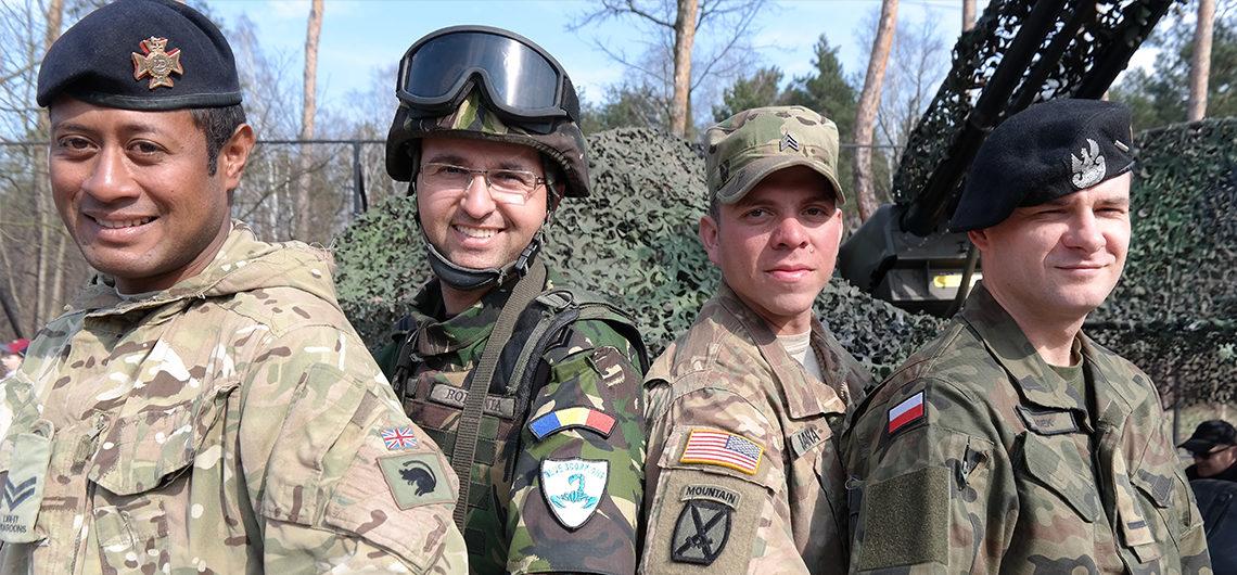 Meet soldiers online