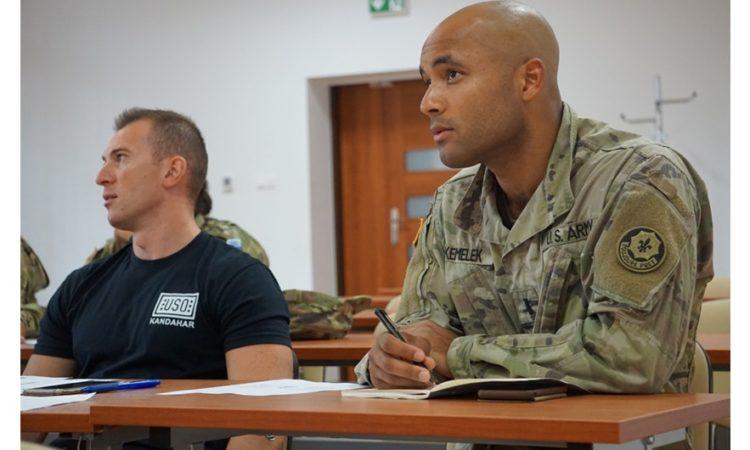 2nd Lt. Matthew Kemelek, assistant operations officer (Photo by 2nd Lt. Robert Bannon)