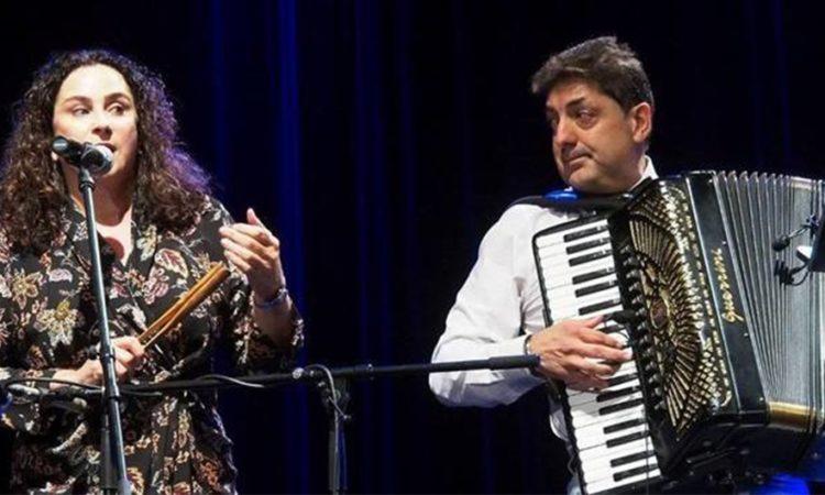 Duet amerykańskich muzyków Elizabeth Schwartz i Peter Stan na koncercie finałowym 11. Festiwalu Kultury Żydowskiej Zachor, fot: ©Jerzy Doroszkiewicz